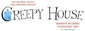 creepy house logo