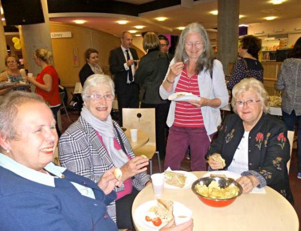 volunteer celebration event