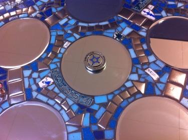 Magic Roundabout Mirro Mosaic
